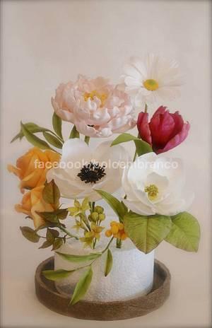 Flowers - Spring'14 - Cake by Bolo em Branco [by Margarida Duarte]