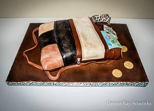 A Purse Cake - Cake by DeniseRayArtworks