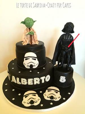 Star wars cake - Cake by Le torte di Sabrina - crazy for cakes