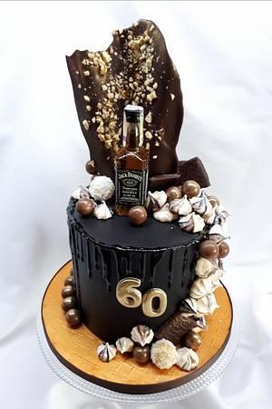 birthday ganache cake - Cake by Kaliss