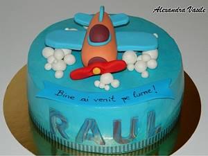 Plane cake - Cake by alexandravasile