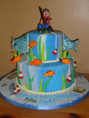 Fishing Cake 60th Birthday! - Cake by Kristen