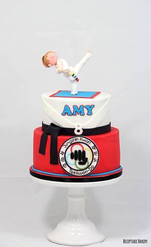 Taekwondo cake - Cake by Sandra - Receptidee Bakery