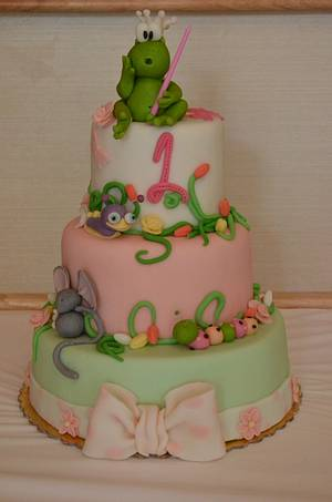Prince frog - Cake by Konstantina - K & D's Sweet Creations