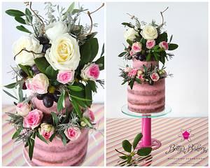 """Flowershower"" - Cake by Betty's Bakery (molecular sensations)"