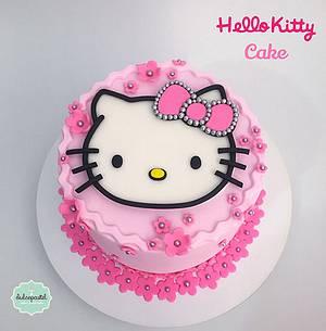 Torta Hello Kitty - Cake by Dulcepastel.com