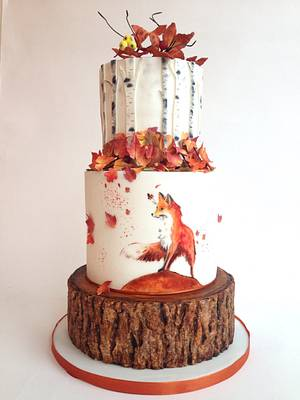 Autumn - Cake by tomima