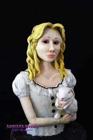 Alice in Wonderland - Cake by Aroma de Azúcar