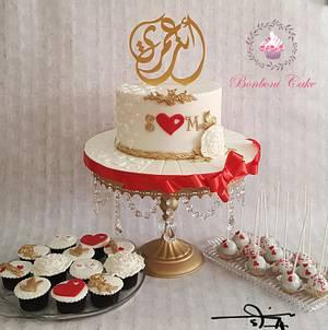 You are my life - Cake by mona ghobara/Bonboni Cake