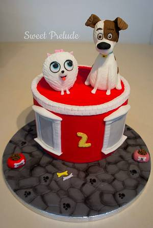 The Secret Life of Pets cake by Sweet Prelude - Cake by Sweet Prelude