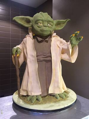 The Force is Strong - Cake by Bryson Perkins