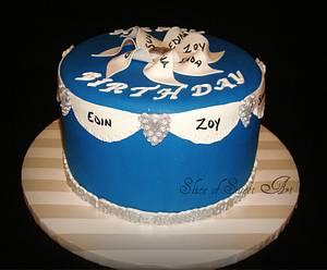 Group Birthday - Cake by Slice of Sweet Art