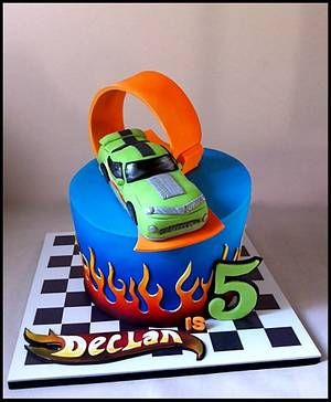 Hot Wheels Birthday! - Cake by Dream Cakes by Robyn