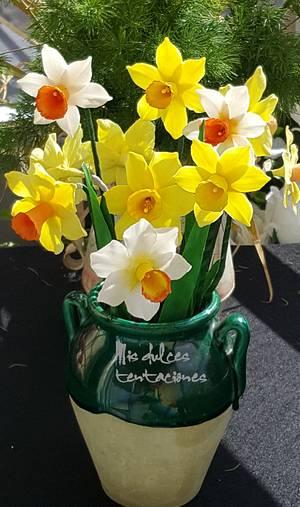 Daffodils  - Cake by Asya Vencheva