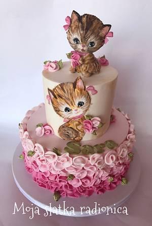 Kittens cake  - Cake by Branka Vukcevic