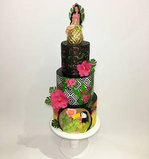 tropical cake - Cake by Tuba Fırat