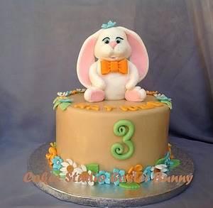 Little Bunny  - Cake by Irina Vakhromkina