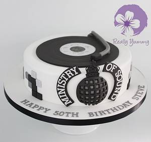 Ministry of Sound cake - Cake by Really Yummy
