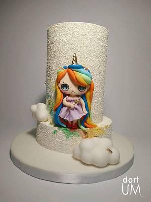 Believe in unicorns - Cake by dortUM