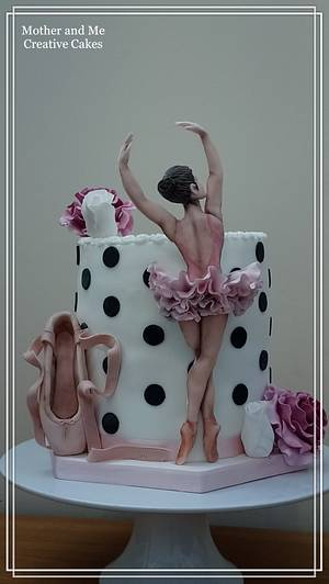 Cake for a Ballerina  - Cake by Mother and Me Creative Cakes
