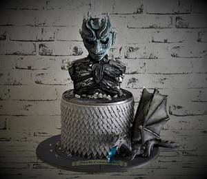 Game of thrones night king cake - Cake by Cakes for mates
