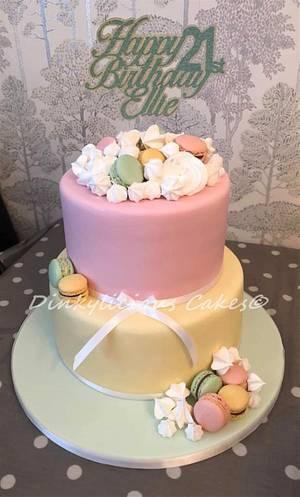 Vintage 21st cake - Cake by Dinkylicious Cakes