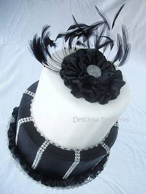 Elegant Ruffled Flower Cake - Cake by DeliciousDeliveries