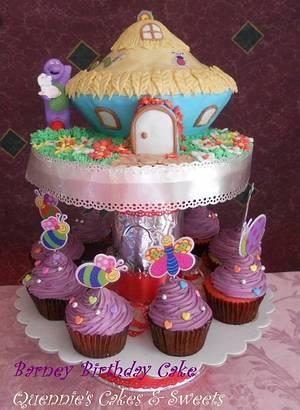 Barney Birthday Cake - Cake by quennie