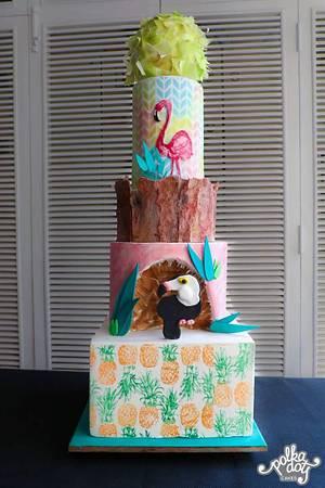 Beachy beliefs  - Cake by Juhi goyal