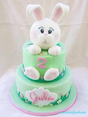 Little Bunny Cake - Cake by zuccherofondente