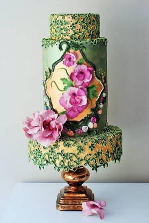 Vintage Cake - Cake by Albena