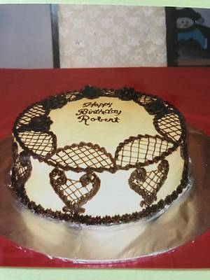 Happy Birthday Robert - Cake by Julia
