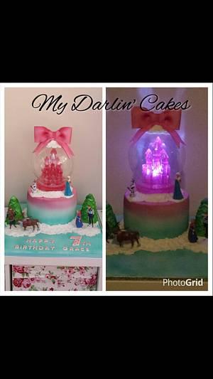 My favourite frozen cake xx - Cake by My Darlin Cakes