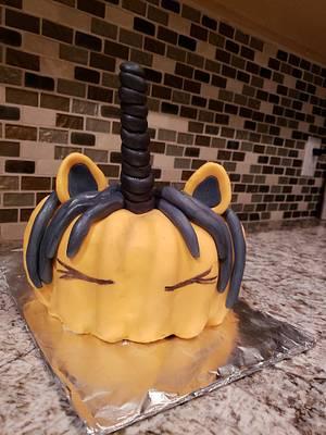 Pumpkincorn - Cake by TheUnicornHorn