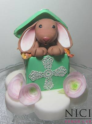 Nice little hare - Cake by Nici Sugar Lab