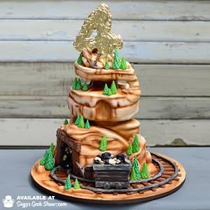 Golden Birthday - Cake by Liz Marek