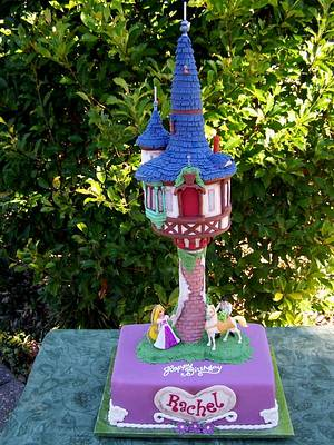 Enchanted Tower - Cake by Theresa