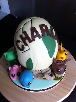 Pokemon Go - Cake by cakebelly