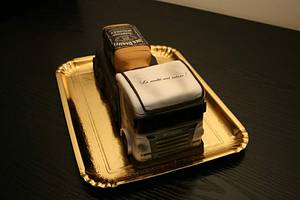 Truck  - Cake by Rozy
