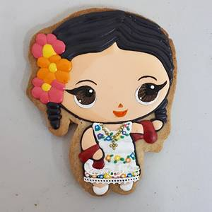 Mexican dolls - Cake by Laura Reyes