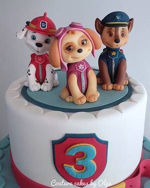 Paw patrol - Cake by Couture cakes by Olga