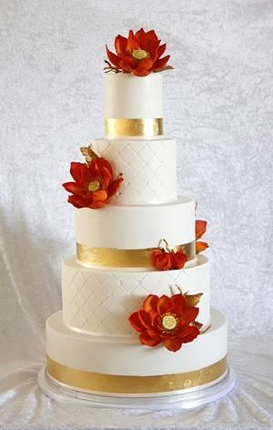 Lotus. - Cake by Sannas tårtor