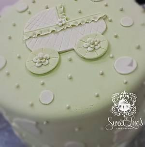 Baby Shower Cake - Cake by Tomyka