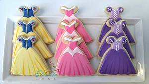 Disney Princesses Cookie Set - Cake by Elevatecake