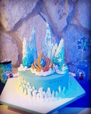 Frozen cake - Cake by María Florencia Juárez
