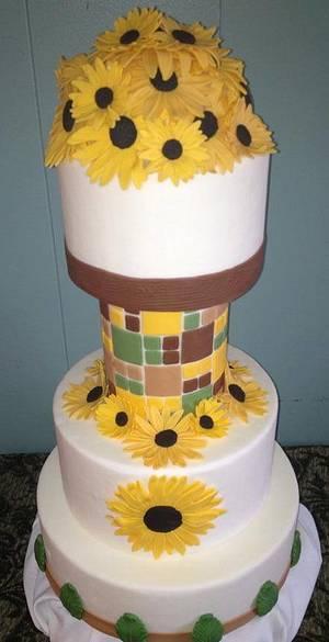 country Wedding cake - Cake by Samantha Corey