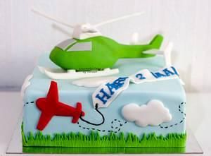 Helicopter Cake - Cake by Vanessa