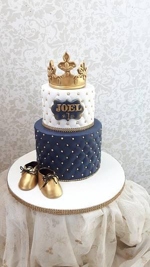 Prinse  Joel one birthday cakes  - Cake by Nebibe Nelly