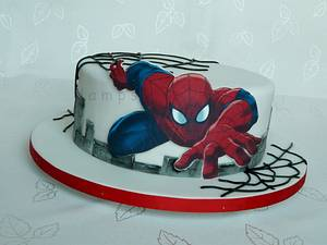 Spiderman - Cake by lamps