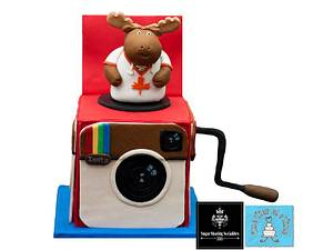 Mr. Instagram Moose Jack in the Box SSS Collaboration - Cake by Onetier